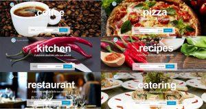 Il cibo sul web