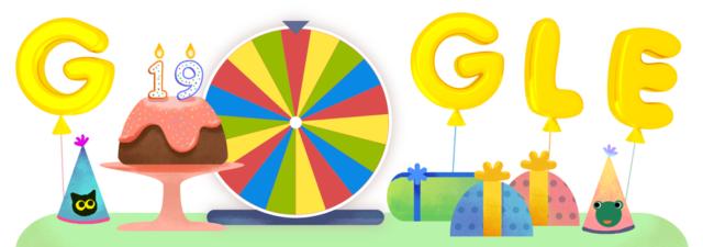 Compleanno di Google