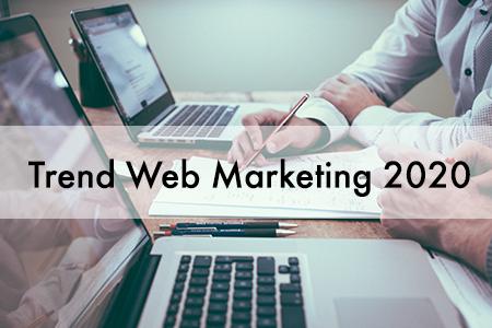 trend web marketing 2020
